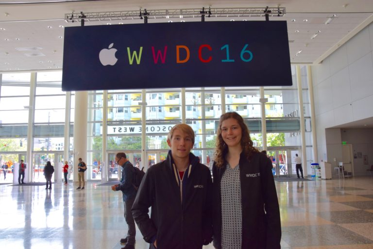 Larissa Laich and Frederik Riedel at WWDC 2016